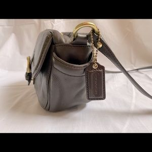 Coach Brown Genuine Leather Purse